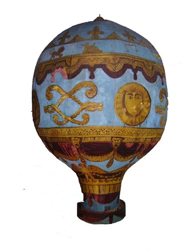 Picture Of The Montgolfier Brothers Balloon At The London Science Museum
