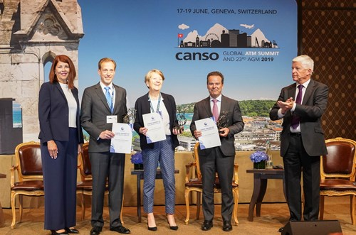 The Civil Air Navigation Services Organisation (CANSO) has announced that the winner of the inaugural CANSO Award of Excellence in ATM 2019 is Aireon, NATS and NAV CANADA for their joint project to deploy space-based ADS-B in the North Atlantic