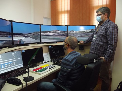Croatia Control's new tower simulator in Split