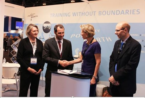 Entry Point North and IATA enter into collaboration agreement