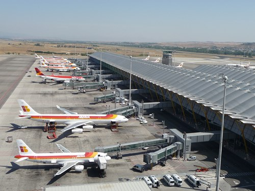 ERA is completing the extension of its surface guidance system at Barajas Airport in Madrid
