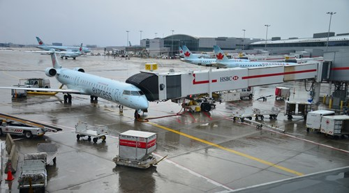 Toronto Pearson International Airport is the largest airport in Canada