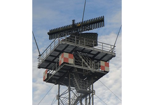 HENSOLDT's ASR-S radar is improving air traffic control and air surveillance at the airfields of the German Armed Forces. Photo: HENSOLDT