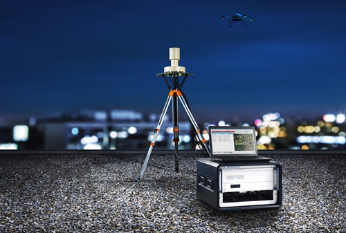 R&S ARDRONIS Counter-UAV solution provides reliable drone control uplink signal detection and disrupting capabilities, even under challenging signal scenarios.