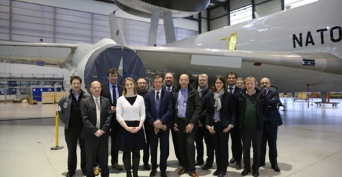 Visit to military ATM modernisation project shows SESAR Deployment Manager in Germany