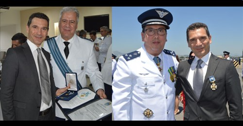 The Order of Aeronautical Merit is the highest Aeronautical honour awarded by the Brazilian Air Force Commander.