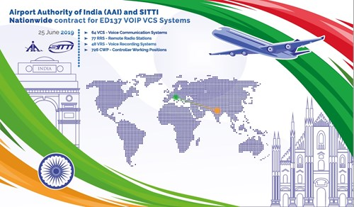 India award SITTI major VCS contract for 45 airports