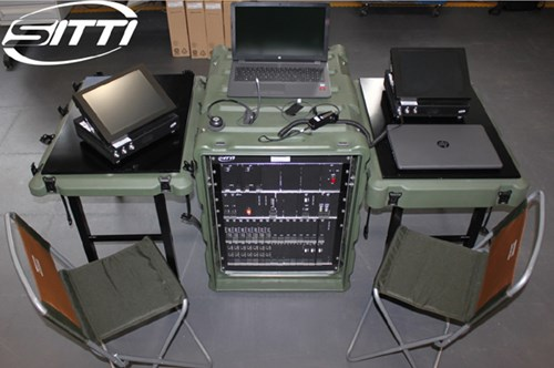 SITTI's field deployable system supplied to the Italian Air Force (Aeronautica Militare – AM)