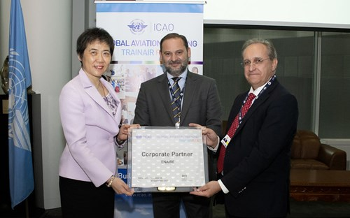 The signing event featured the acting Minister of Works, José Luis Ábalos, ENAIRE's Managing Director, Ángel Luis Arias, and the Secretary General of the ICAO, Dr Fang Liu.