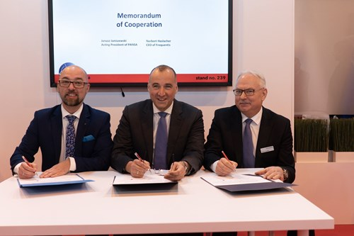 Frequentis PANSA memorandum of cooperation
