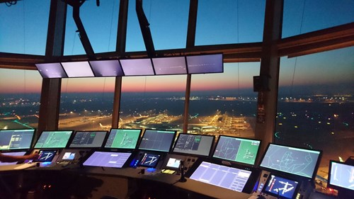Two towers at Amsterdam Schiphol airport have now been equipped with Frequentis smartSTRIPS