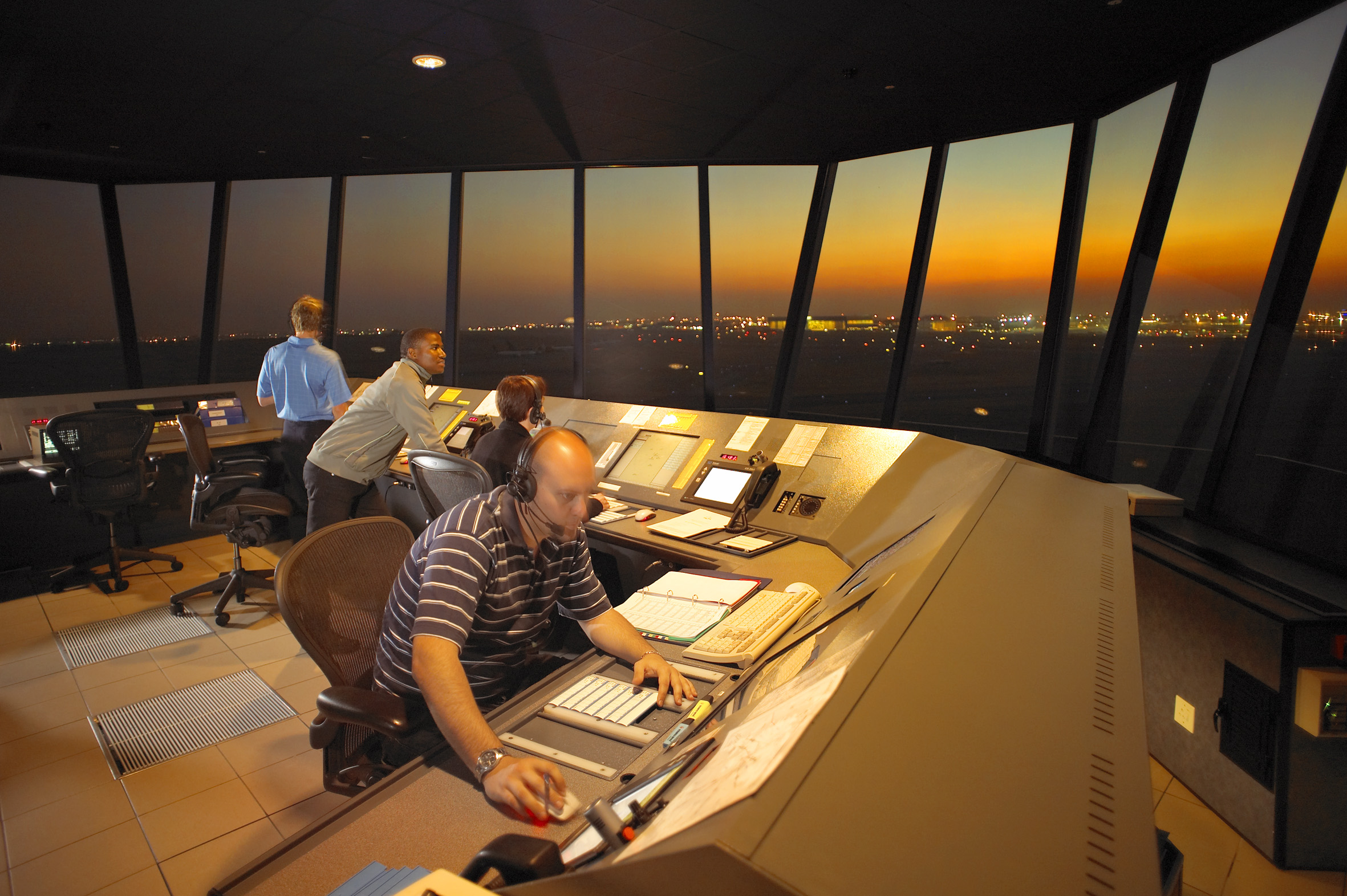 Two Air Traffic Controllers Fired For Sleeping On Duty
