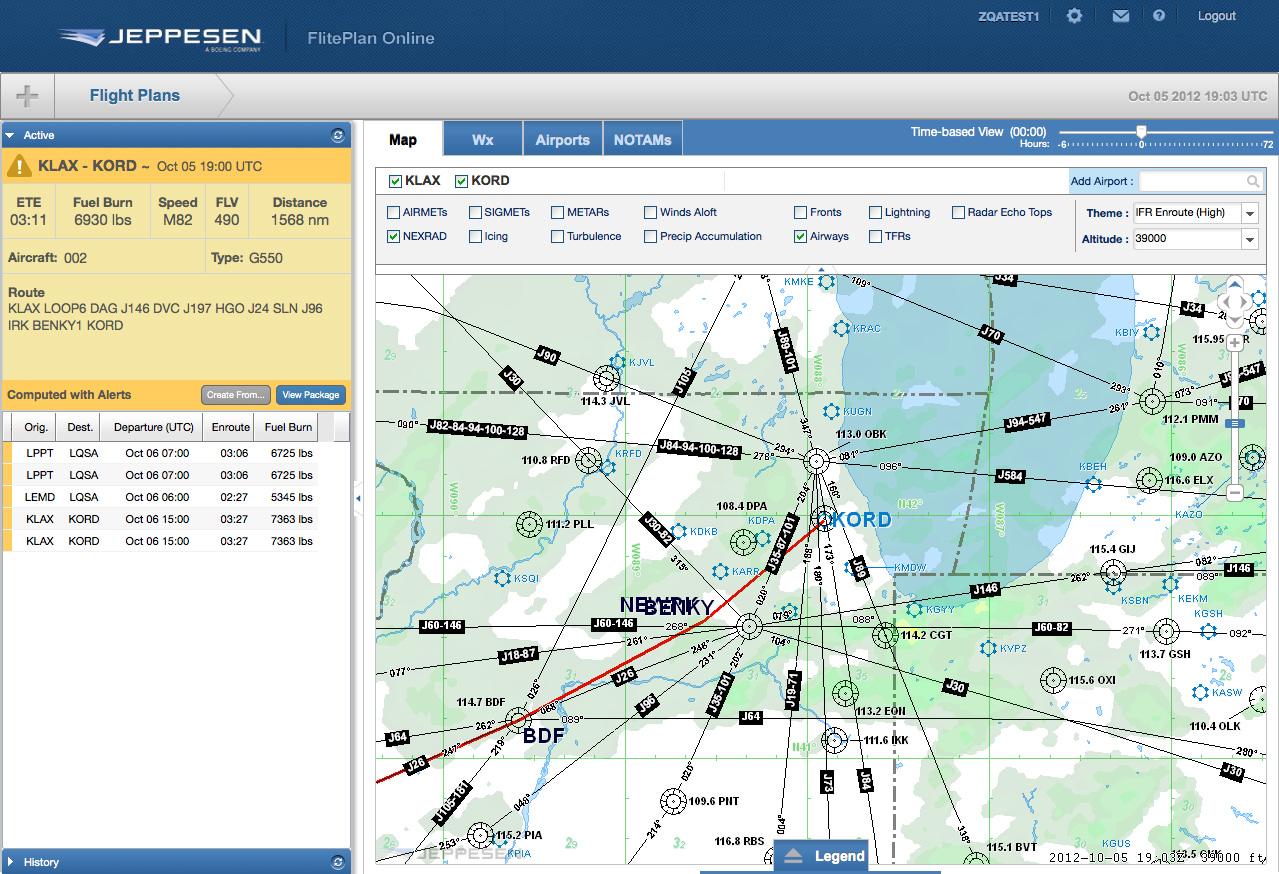 New Jeppesen Fliteplan Online Solution Offers Simplified