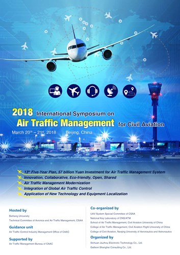 2018 International Symposium on Air Traffic Management for Civil Aviation